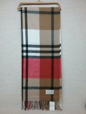 "ACCESSORI ITALIANI Home - DESIGNER INSPIRED - Plaid Print - Blanket - 62""x52"""