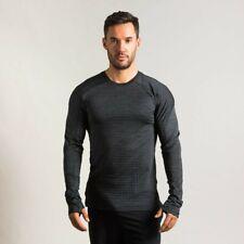 Nike Men's Medium Pro Tech Pack Long-Sleeved Running Top T Tee Shirt Bv4503-010
