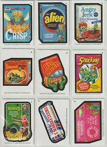 Mars Attack Wacky Packages Packages 21 Card Base Set Online Exclusive 2020