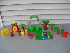 LEGO DUPLO DINOSAURS CAVEMAN PREHISTORIC RIVER BASE MOUNTAIN FIGURES CAVE LOT
