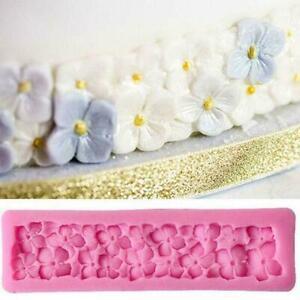 Neue Mode 3D Blumen Silikon Kuchen Form DIY Fondant Decor Schokolade Kuch FAST