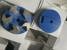 3 Diamond Grinding Puck 1620 Grit To 150 Grits Soft For Hard Concrete Terrco