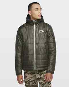 Men's Nike Sportswear Synthetic-Fill Jacket CU4422-380 Twilight Marsh Green