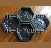 CONCRETE PAVING GARDEN MOULD PATH SLAB BRICK PLASTIC FLOOR TILE MOULD STONE
