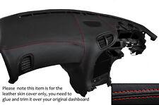 Rojo Stitch Dash Dashboard Leather Piel tapa se ajusta Mazda Rx7 Fd3s 1992-2002