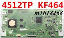 Original SONY SHARP RUNTK CPWBX 4512TP T-con board QPWBXF464WJN1 XF464WJ KF464