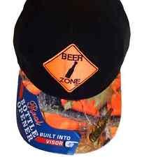 Beer Zone Working Bottle Opener Baseball Ball Cap Hat