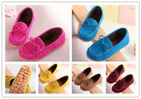 New Kids Shoes Boys Girl Loafers Shallow Ankle Boots Flat Soft Bottom Skid Shoes