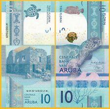 Aruba 10 Florin P-New 2019 UNC Banknote