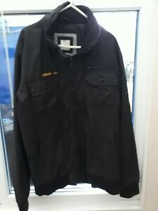 MENS BLACK Jack & JONES JACKET SIZE M GREAT USED CONDITION