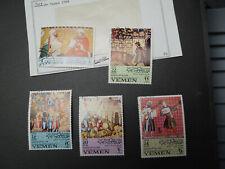 24 stamp LOT Yemen CTO late 1960's JFK Olympics Gauguin paintings