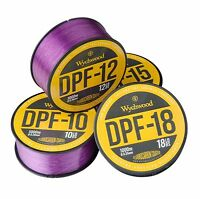 Wychwood DPF Deep Purple Carp Fishing Coated Fluoro Monofilament Mono Line