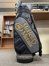 McHenry Metals Golf Bag - Cart - NEW!