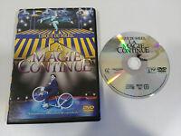 CIRQUE DU SOLEIL LA MAGIE CONTINUE DVD CASTELLANO + EXTRAS 1986-2004