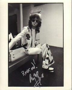 REPRINT - JIMMY PAGE Led Zeppelin Guitarist Signed  8 x 10 Photo RP Man Cave