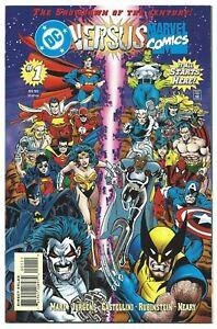 DC VERSUS MARVEL #1-4 FULL SET NM/MT 9.8 W LOBO WOLVERINE 1996 BEAUTIES! B/O