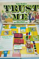 Vintage TRUST ME board game - 100% COMPLETE - Parker Brothers 1981