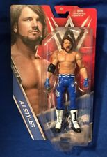 WWE AJ Styles Basic Figure Series 76 Blue Elite Attire