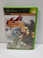 Capcom Fighting Evolution (Microsoft Xbox, 2005) With Manual TESTED