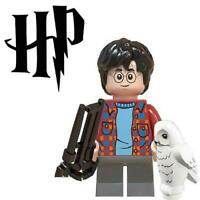 Harry Potter with Hedwig Custom For Lego Minifig Mini Figure 17