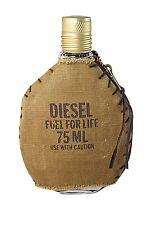 Diesel Fuel For Life 75ml Men's Eau de Toilette Spray New Without Box ✰Free P&P✰
