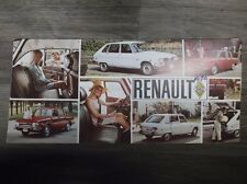 Original Vintage 1970 Renault The big story in economy cars! Sedan Station Wagon