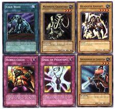 Ω YUGIOH Ω Lot de 6 Belles Cartes Lot N° YC 50