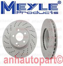 Mercedes-Benz W204 W207 W212 C350 E350 Set of 2 Front Disc Brake Rotors Meyle