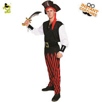 Pirate Costume  Adult Mens  Halloween Costume Fancy Dress