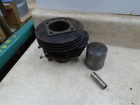 Garelli 98cc 100 TRAIL Used Engine Cylinder & Piston 51.25mm 60s WD RB55