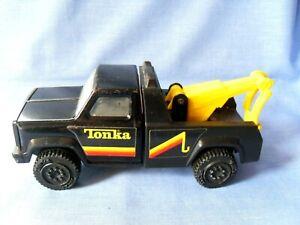 Tonka Toys Breakdown Truck - Black & Yellow - Very Good Condition.