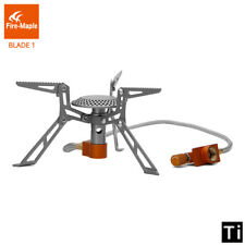 Titanium Gas Burners  Ultralight Stove Foldable Furnace 98g for Outdoor Camping