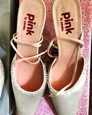 Pink by Paradox London Bridesmaid Shoes - Blush (Satin) - Size 4