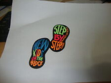 New Kids On The Block 1990 Patch Step By Step Iron On