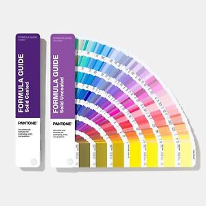 **BRAND NEW - 2020 VERSION** Pantone GP1601A Coated and Uncoated Formula Guide