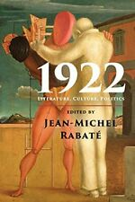 1922.by Rabate, Jean-Michel  New 9781107662001 Fast Free Shipping.#