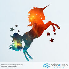 Galaxy Unicorn Wall Decal Sticker Bedroom Vinyl Kids Art