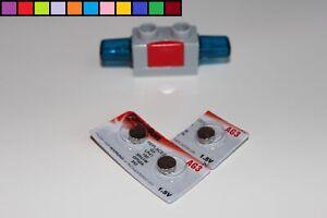 Lego Duplo - 3x Batterie Ersatzbatterien - für Blaulicht Sirene - elektrisch