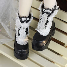 1/4 BJD Shoes MSD Dollfie DREAM Black Boots AOD DOD LUTS MID EID SOOM Dollmore