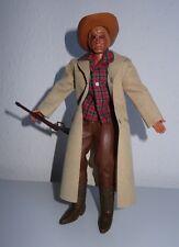 BIG JIM Old Shatterhand im tollem Custom Outfit als Cowboy mit langem Mantel