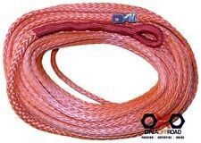 Australian made 10mm x 40M winch rope orange suits M8274 high mount