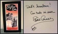 Desi Arnaz Santiago de Cuba Birthplace Poster Signed Lucie Video Lucille COA
