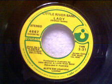 """LITTLE RIVER BAND """"LADY / TAKE ME HOME"""" 45"""