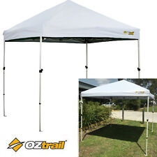 Oztrail Compact Gazebo (WHITE) 2.4x2.4m Marquee Stall Stand Tent Canopy
