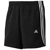 "ADIDAS MENS CHELSEA SHORTS SIZE L XL BLACK TRAINING CLIMALITE 34-36"" 38-40"""