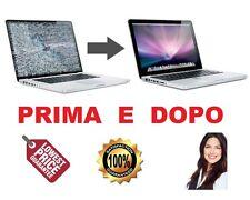 """Apple Macbook Pro 17"""" ASSISTENZA SOSTITUZIONE PANNELLO MONITOR LCD ORIGINALE"""