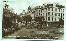 Tram Nethergate Dundee Scotland 1950 Valentine's postcard