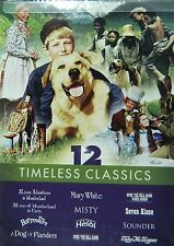 12Movie DVD ALICE in WONDERLAND A DOG of FLANDERS The BORROWERS MISTY SOUNDER