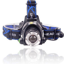 Fishing Tactical 30000LM T6 LED Headlamp fit 18650 Battery Headlight Torch Light