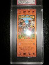1998 Super Bowl XXXII 32 - FULL TICKET - PSA 9  Denver Broncos